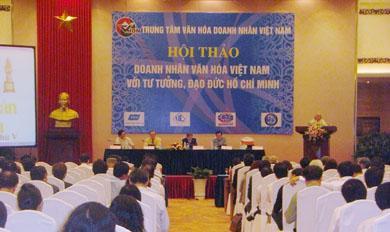 Doanh nhân Việt Nam với Tư tưởng đạo đức Hồ Chí Minh